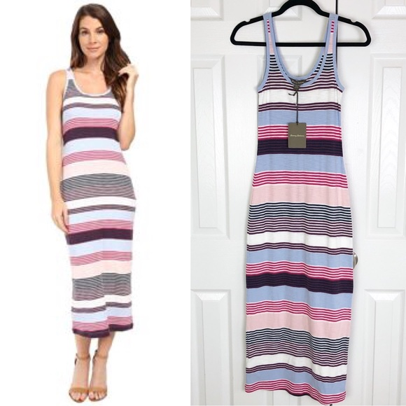 Tommy Bahama Dresses & Skirts - New Tommy Bahama Veradero Stripe Column Dress